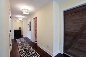 lighting a hallway. Lighting Hallway Ceiling With Flush Mount Lights Inside A