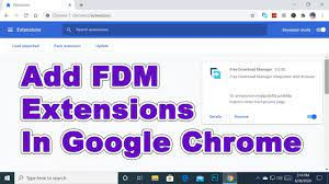 If it does not work, read here how to configure keys to prevent idm from taking a download. 2020 How To Add Fdm Extension In Google Chrome Browser Add Free Download Manager Extensions Youtube