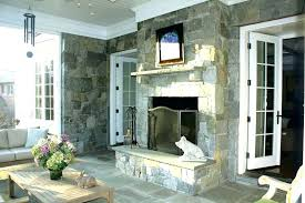 double sided indoor outdoor fireplace the screened porch of tony in intended for two plans see thru gas fire 2 wood