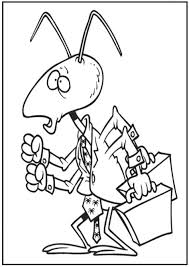 Small Picture Coloring Pages Ants Coloring Pages Free Coloring Pages Ant
