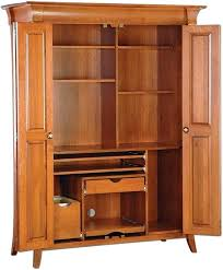 armoires solid wood computer armoire solid wood computer open hutch desk storage cabinet solid wood