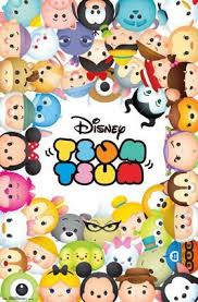 Tsum Tsum Color Chart Wall Poster Disney Tsum Tsum Disney Tsum Tsum Disney