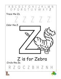 0c7d050e5795a4c717bf8685c19a91af alphabet letter z worksheet standard block font preschool on teaching alphabet letters to pre k children printable