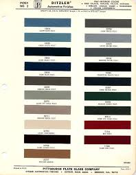 1965 Pontiac Color Chart 1967 Mustang Interior Paint Chip Chart With Paint Codes