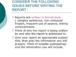 Survey Report Writing A Survey Report