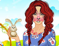 make face bunny face make up