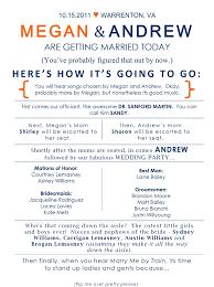 Printable Wedding Program Templates 37 Printable Wedding Program Examples Templates Template Lab
