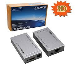 hdmi dvi displayport devices 3d hdmi single port extender over cat5e cat6 50 meter 1080p 80m 720p