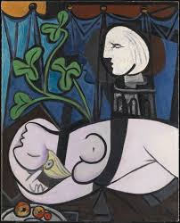 nu au plateau de sculpteur 1932 green leaves and bust pablo picasso find this pin and more on art top 20 most expensive paintings in the world