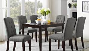 chairs extending dining grey wood set round oak pine brown black room and gray white table