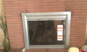 fireplace replacement doors insert ators ator lennox glass panels