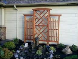 cedar trellis planter box plans standing with do it yourself home of