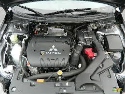 2008 Mitsubishi Lancer ES 2.0L DOHC 16V MIVEC Inline 4 Cylinder ...