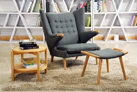 Furniture: Red Futon Comfy Reading Chairs - Cool Reading Chairs