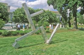 national gallery of art sculpture garden washington dc stock photo 20514377