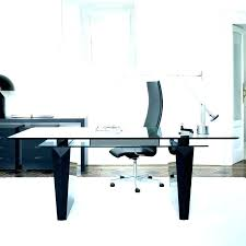 office table with glass top. Glass Top Office Desk Table Home Contemporary Furniture With
