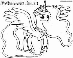 Princess Luna Coloring Page Zoloftonline Buyinfo