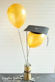 diy graduation balloon gift idea giggles galore