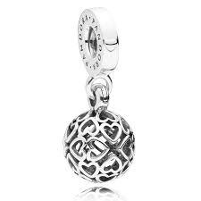 pandora harmonious hearts pendant charm 797255 pandora charms from gift and wrap uk