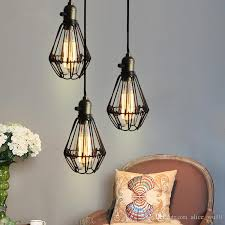 wall lamp e27 40w st64 loft metal retro industrial pendant light black hanging lamp shade holder bulb socket 110 220v designer ceiling lights ceiling lamp