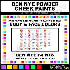 Coral Paint Color Chart Coral Powder Cheek Body Face Paints Dr 7 Coral Paint Coral