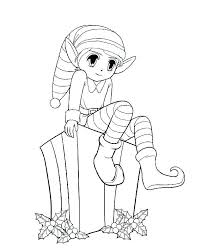 elves coloring pages to print elf on the shelf printable elves coloring pages to print elf on the shelf printable