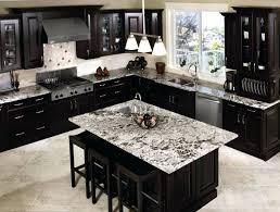 dark grey granite countertops black kitchen craft cabinet and island decor gray with white cabinets