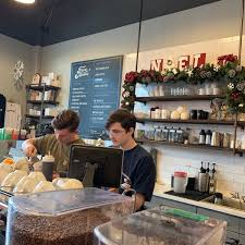 My go to is their oat milk latte. Photos At Five Stones Coffee Company Downtown Redmond 8102 161st Ave Ne