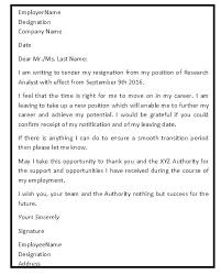 good letter of resignation resignation letter sample doc visitlecce info
