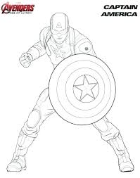 Satisfying Captain America The Winter Soldier Coloring Pages H1674