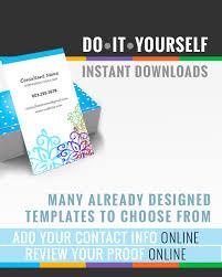 Card Mini Business Card Template