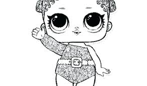 Lol Doll Coloring Pages That You Can Print Out Queen Bee Doll