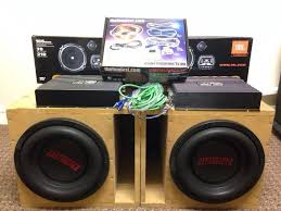 sound system kit. earthquake subwoofer bass box car sound system jbl speakers 0 gauge wiring kit - 1 t