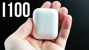 Обзор <b>наушников i100</b> самая популярная по типу AirPods - YouTube