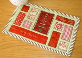 Quilted Mug Rugs Patterns & ... Ticker Tape Mug Rug (Quilt as You Go) Pattern Adamdwight.com