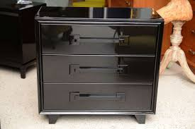 an italian modern black lacquer  drawer chest at stdibs