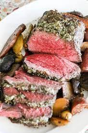 rosemary garlic beef top round roast