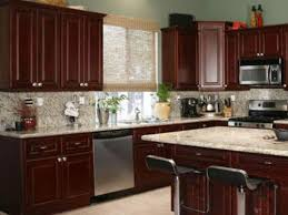 Small Picture Home Design Ideas cherry cabinets wallpaper kitchen design ideas