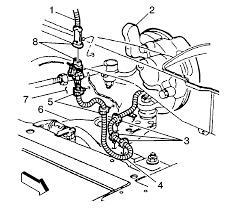 repair instructions front wheel speed sensor wiring harness lf wheel speed sensor jumper harness