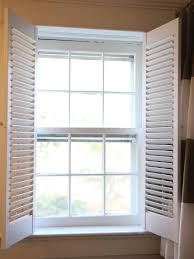 Diy Exterior Window Shutters How To Install Interior Plantation Shutters How Tos Diy