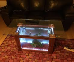 Instructables Coffee Table Aquarium Coffee Table 7 Steps With Pictures