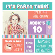 Free Printable Birthday Invitation Templates For Kids | Greetings ... Add Photo favorite