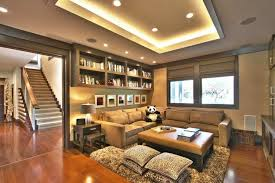 tray ceiling lighting. Family Room Using Rope Tray Ceiling And Recessed Lights Lighting