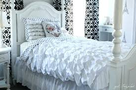 ruffle duvet ruffled duvet cover sewing tutorial so pretty hadley ruched duvet cover pottery barn ruffle duvet white