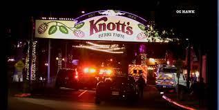 Knotts Berry Farm park-goers flee in ...