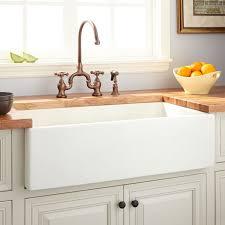 fireclay farmhouse sink. 36 Dorhester Fireclay Reversible Farmhouse Sink Smooth Apron Pertaining To Designs 7
