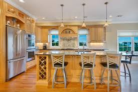 Light Wood Kitchen Natural Stained Wood Kitchen Toms River New Jersey By Design Line