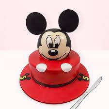 mickey mouse themed fondant cake 5 kg