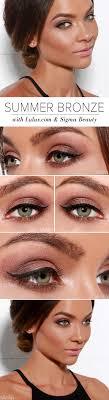 bronze makeup tutorials celebrity looks to get inspired from