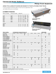 Truck Tool Box Size Chart Best Picture Of Chart Anyimage Org